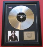 JANET JACKSON - Decade CD / PLATINUM  PRESENTATION DISC